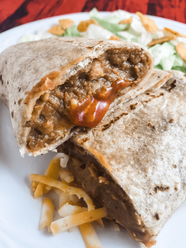 Copycat Taco Bell Bean Burritos Meal Planning Mommies