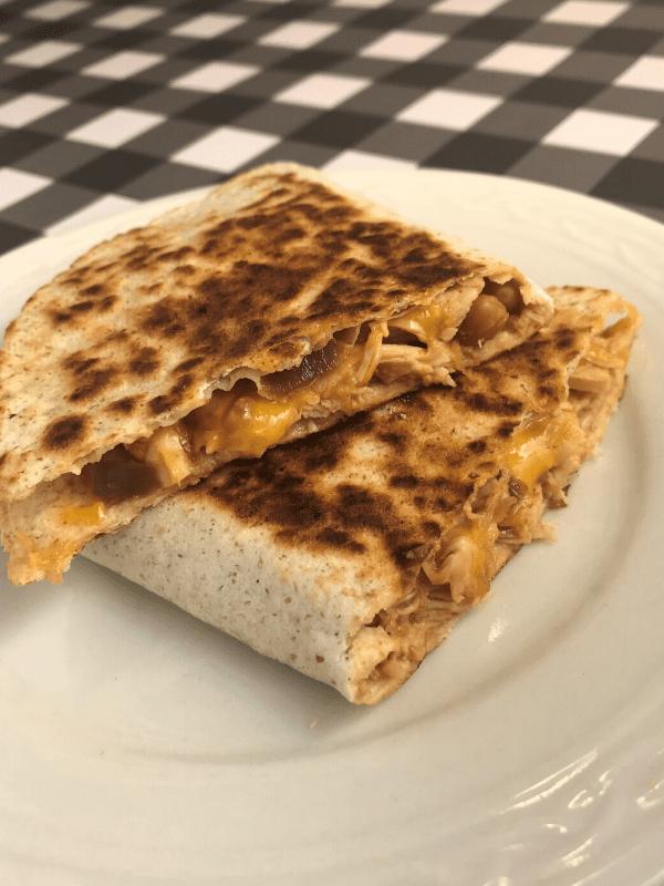 Aloha Shredded Chicken Quesadillas Meal Planning Mommies